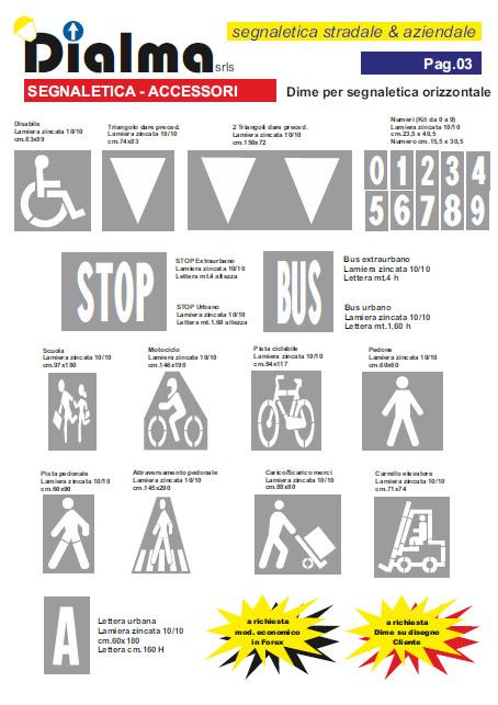 Segnaletica Orizzontale - segnaletica stradale