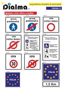 segnali utili per la guida