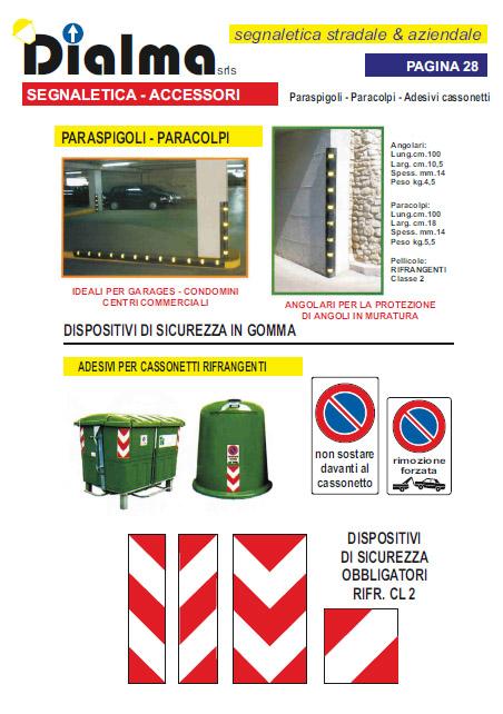 Accessori segnaletica stradale